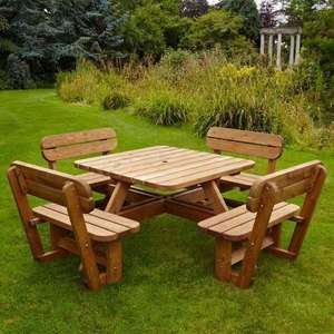 Anchor Fast 8 Seater Pine Wood Picnic Bench £359.98 @ Costco Liverpool