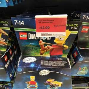 Lego Dimensions Fun Pack buy 1 get 1 free [Sainsburys]