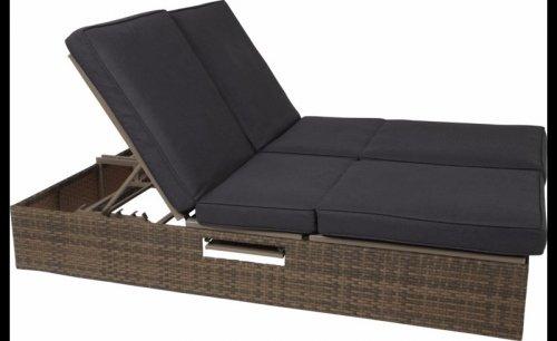 "ASDA DIRECT Borneo Deluxe Lounger, Sofa & Sofa Bed ""reduced"" £239.20"