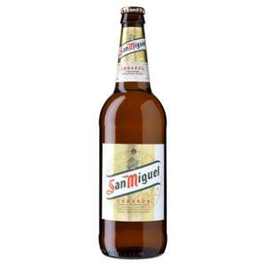 San Miguel Lager 660 ml only £1.50 instore at Lidl