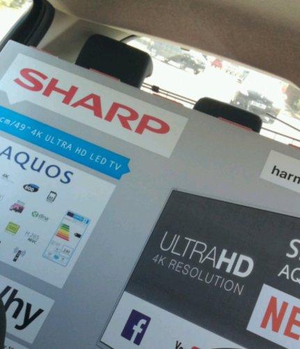 """Sharp 49"""" 4k Smart TV at Tesco instore (Shrewsbury) for £329"""