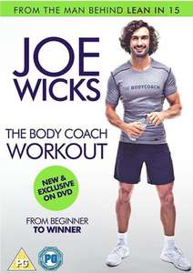 Joe Wicks The Body Coach Workout DVD £3.85 Delivered [Amazon Prime Exclusive]