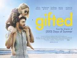 Showfilmfirst: Gifted (12A) Sunday 04/06/17x0910:30 am