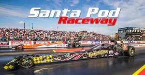 FREE live tv coverage from Santa pod Dragster racing