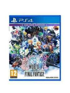 World of Final Fantasy PS4 £18.99 @ Very