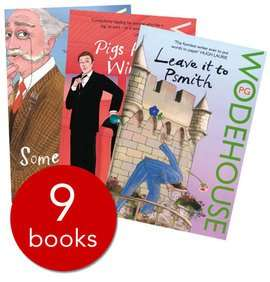 P. G. Wodehouse Collection - 9 Books was £71.91 now £6.99 + £2.99 delivery @ The book people