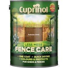 Cuprinol Less Mess Fence Care 5lt £5.00 @ Wilko