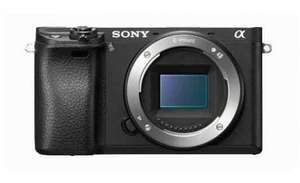 Sony A6300 Body with Extended Warranty - £649 (including cashback) £799 @ Cameraworld