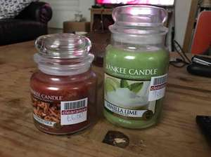 Yankee Candles in store @ Boots Medium £6 Large £9