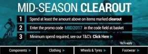 Chain Reaction Cycles - Massive Mid-Season Clearout + £20 Off Voucher Code