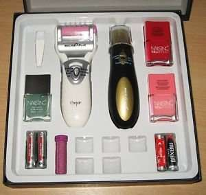Micro pedi gift set with Nails Inc at Tesco for £15