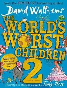 'The World's Worst Children 2' by David Walliams for £6.99 and get 'The Person Controller' Free at Sainsbury's