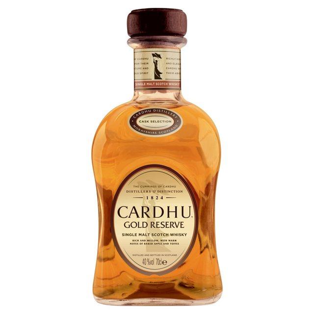 Cardhu Gold Reserve single Malt at Morrisons for £25