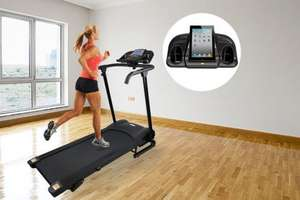 1100W Motorised Folding Treadmill at Wowcher for £208.99 delivered