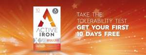 Free 10-Day Iron Supplements