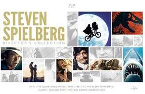 Steven Spielberg: 8 Film Director's Collection [Blu-ray] £11.34 @ Zoom