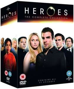 Heroes: The Complete Collection DVD £6.25 Prime or £9.24 non prime @ Amazon
