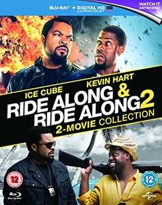Ride Along 1 & 2 on Blu-Ray (NEW) £1.25 with Prime £3.24 for Non-Prime @ Amazon