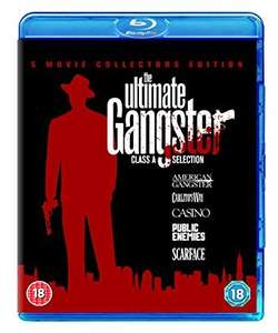 The Ultimate Gangsters Box Set 2011 [Blu-ray] [Region Free] (Prime)