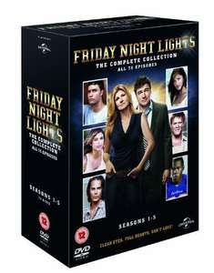 Friday Night Lights Complete Series 1-5 [DVD] £3.25 Prime or £6.24 non prime @ Amazon