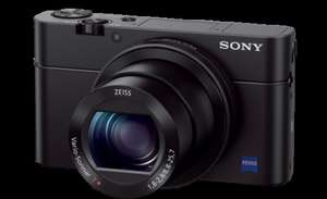 Sony Cyber‑Shot RX100 III with Extended Warranty - (£424 including cashback) @ Cameraworld
