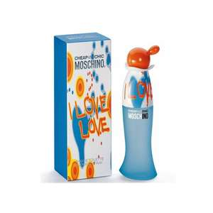 Moschino Cheap & Chic I Love Love Eau de Toilette Spray 100ml  - £15.37 escentual