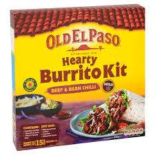 Old El Paso Burrito kits - 99p @ Aldi (Bearwood)