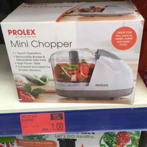 Prolex Mini Chopper £1 @ B&M