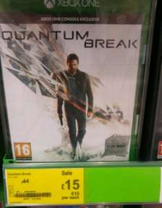 Quantum Break - £15 instore @ Asda Trafford