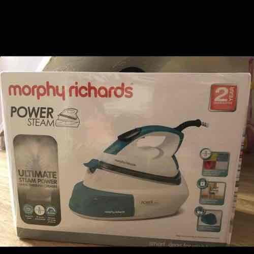 morphy richards iron generator - £39.99 instore @ B&M (Walsall)