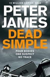 Peter James - Dead Simple (Roy Grace series Book 1) Kindle Edition - 49p @ Amazon