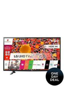 LG 49UH603V 49 Inch Ultra HD 4K, HDR Pro, Smart TV £399 @ Very