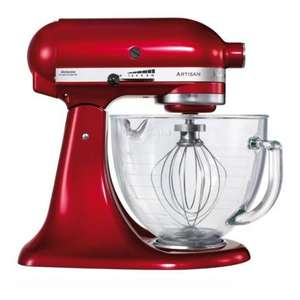 Kitchenaid Artisan stand mixer in Red KSM156BCA £304.99 @ Hughes