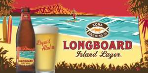 Kona Longboard Lager / Big Wave - 4 for 3 at M&S £6