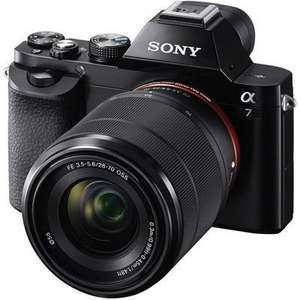 Sony Alpha A7 Digital Camera with 28-70mm Lens + Free Case and Extended Warranty (£882 with cashback) @ Wex
