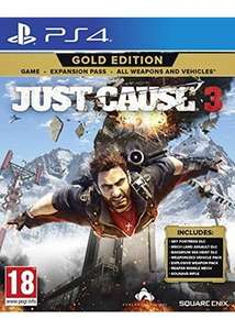 Just Cause 3 (Gold edition) PS4 - base £21.85