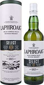 Laphroaig Select single malt scotch whisky 70 cl for £19.99 @ Amazon (free delivery for Prime members or on orders over £20)