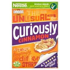 Nestle Curiously Cinnamon Cereal 375G £1.24 Tesco from 31st