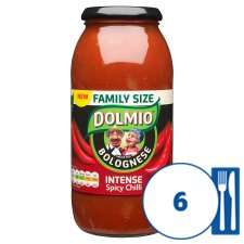 Dolmio Bolognese Intense Chilli Pasta Sauce 750G £1.30 Tesco from 31st