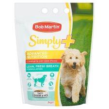 Bob Martin Dry Dog Food Simply+ Fresh Breath 2Kg was £6 now £3 @ Tesco