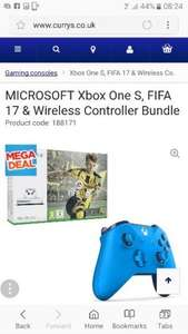 XBOX ONE S FIFA 17 AND AN EXTRA WIRELESS CONTROLLER £199.99 - Currys