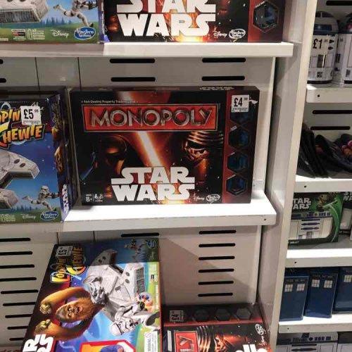 Star Wars Monopoly £4.99 instore @ HMV -  Leeds