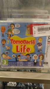 Tomodachi life 3ds - John Lewis - £9.00 instore - cheadle