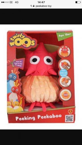 Twirlywoo peekaboo toy £4.99 home bargains
