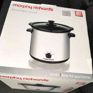 Morphy Richards 3.5L Slow Cooker £1 @ B&M