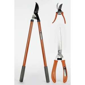 Sovereign Three Piece Cutting Set - Lopper, shear, Pruner @ Homebase - £7 Free C&C