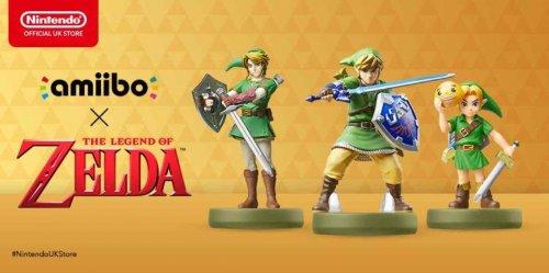 New Zelda Amiibo to preorder £10.99 + £1.99 P&P @ Nintendo