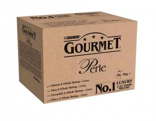 Gourmet Perle Ocean Delicacies in Gravy, 96 x 85 g £22.50 amazon