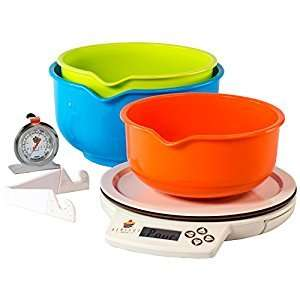 Perfect Bake kitchen scales & app. Amazon Prime - £9.99 / £14.74 non prime Sold by Sound Camera Action and Fulfilled by Amazon