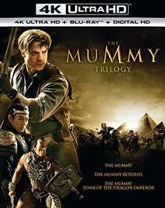 The Mummy Trilogy 4K UHD + Blu-Ray £29.84 [Pre-Order] @ Amazon (£28.99 @ Zavvi)